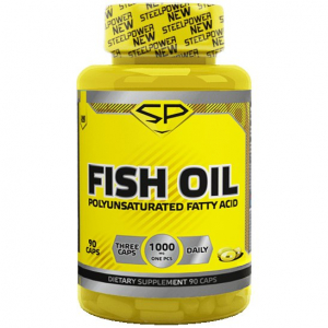 Рыбий жир FISH OIL, 90 капсул, <b>STEELPOWER</b> - купить в ...