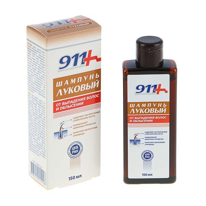 Шампунь «Луковый» от выпадения волос, 150 мл, 911 фото