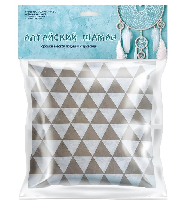 Подушка ароматическая Алтайский шаман, 200 гр, АГФ-Фарма