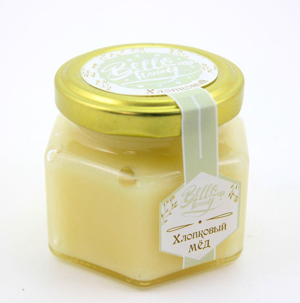 Крем-мёд хлопковый, 120 мл, BelloHoney фото