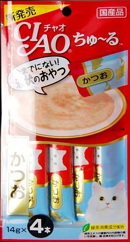 Японский тунец-бонито, 56 гр, Japan Premium Pet фото