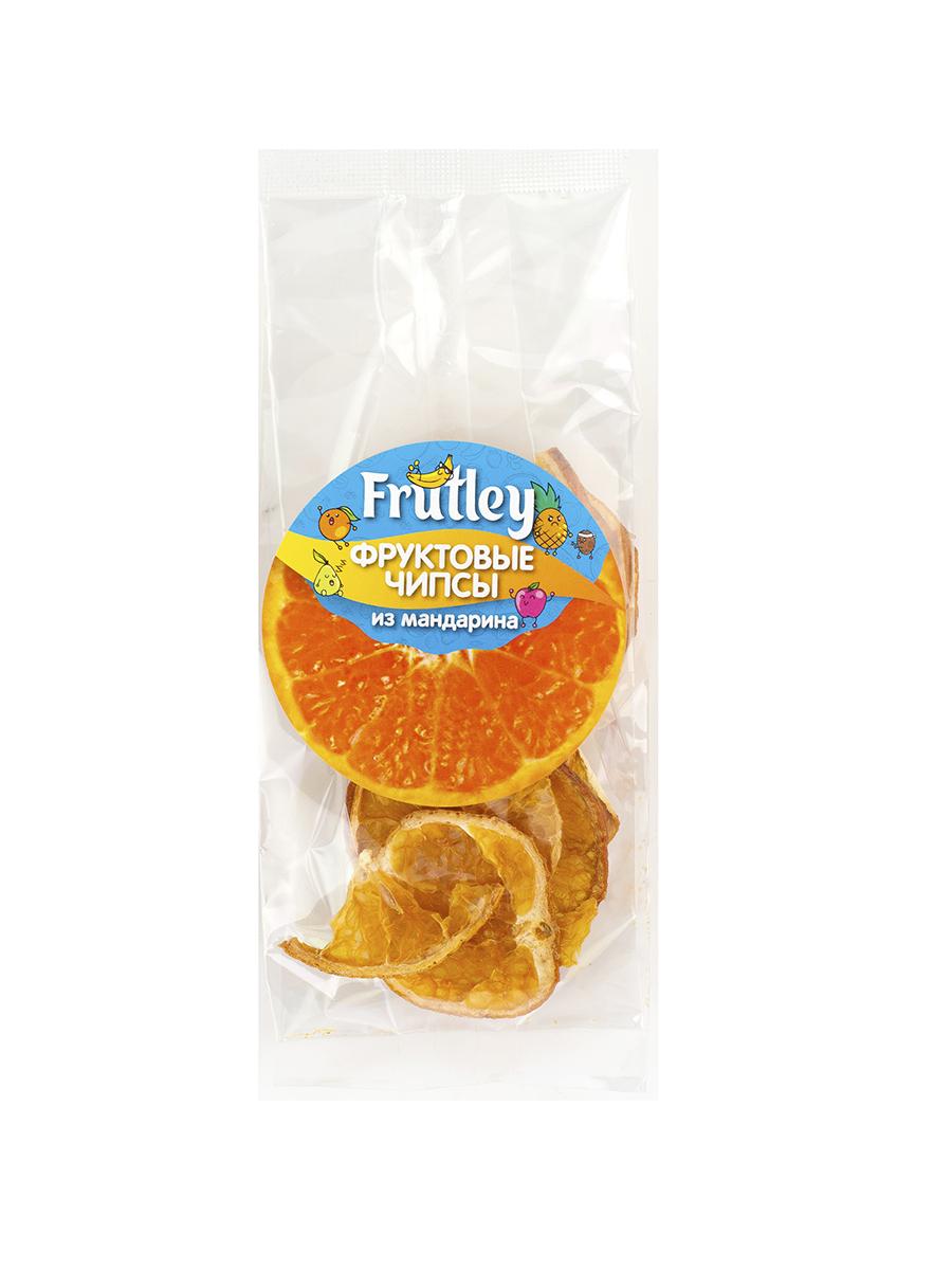 Чипсы - Мандарин, 20 гр, Frutley фото