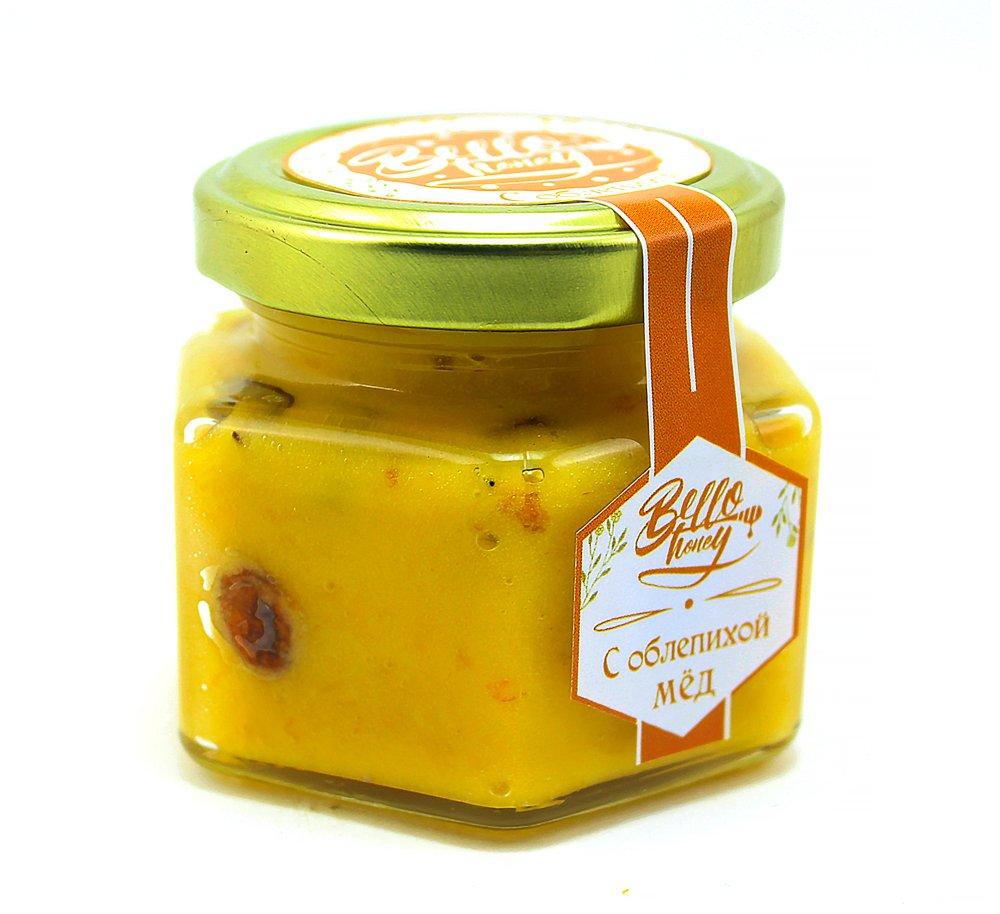 Крем-мёд с облепихой, 200 мл, BelloHoney фото