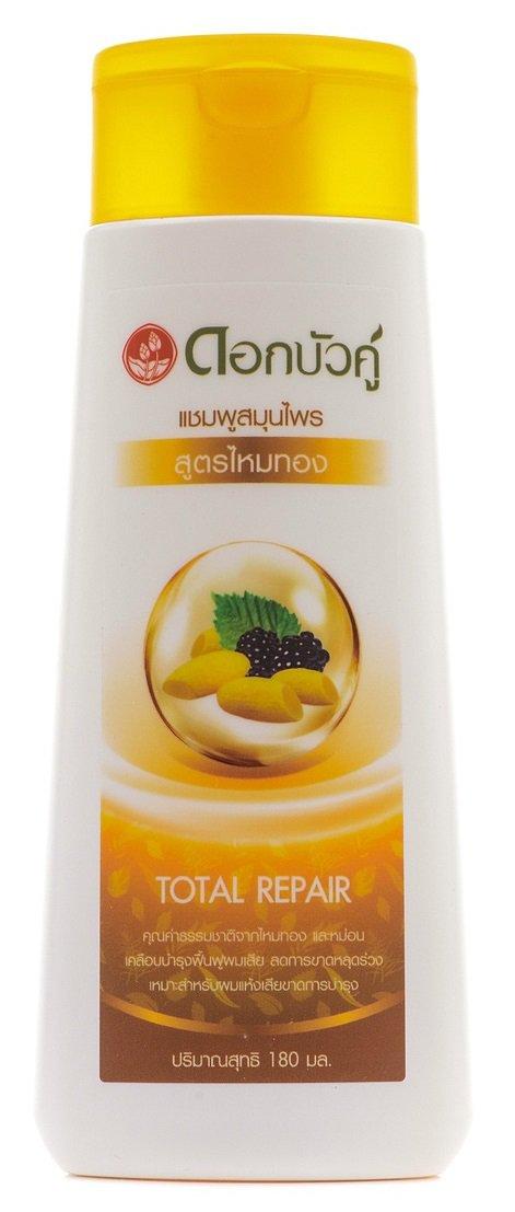 Шампунь для волос «Золотой шелк» с экстрактом шелковицы, 180 мл, Twin Lotus фото