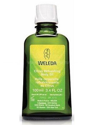 Цитрусовое освежающее масло для тела, 100 мл, Weleda