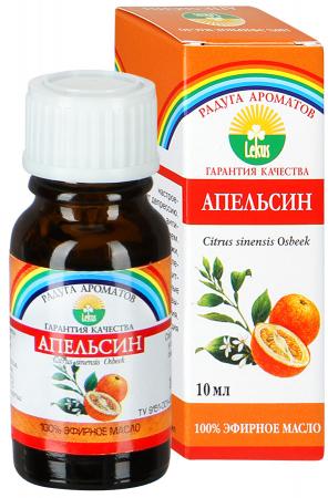 Эфирное масло апельсина, 10 мл, Лекус фото