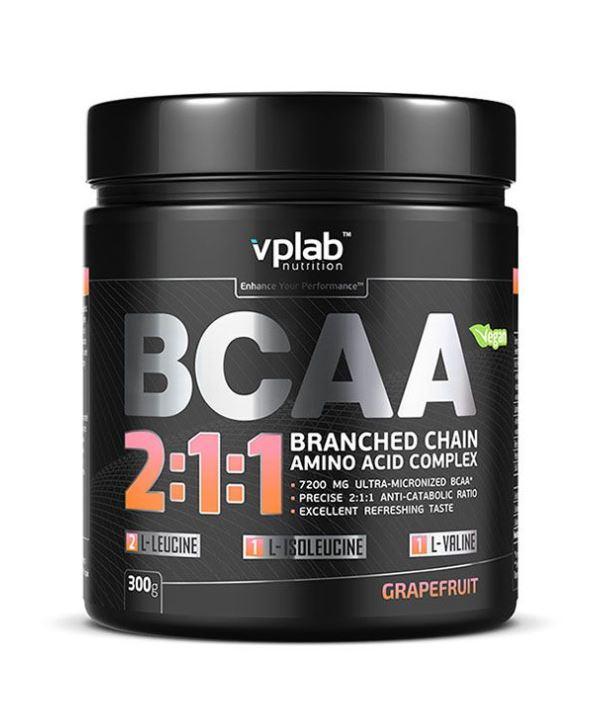 Аминокислоты BCAA 2:1:1, вкус «Грейпфрут», 300 гр, VPLab фото