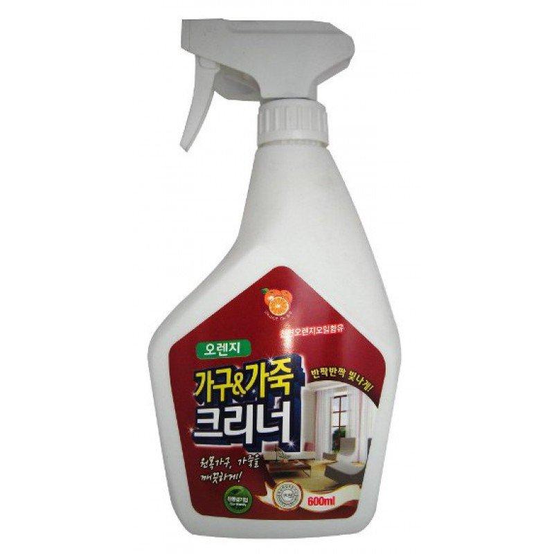 Жидкое средство для чистки мебели с апельсиновым