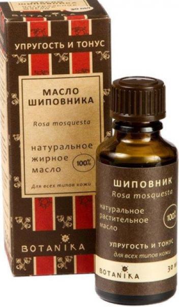 Натуральное косметическое масло Шиповник, 30 мл, BOTAVIKOS фото