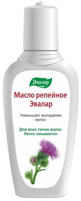 Масло репейное для волос, 100 мл, Эвалар