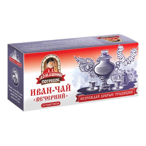 Иван-чай «Вечерний», 25 пакетиков, Домашний погребок фото