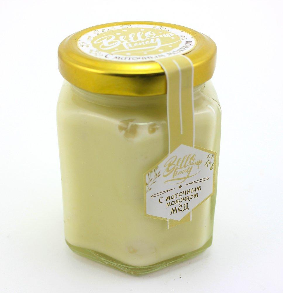 Крем-мёд с маточным молочком, 200 мл, BelloHoney фото