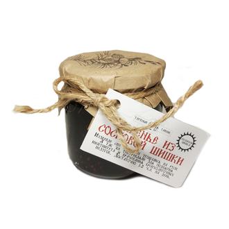 Варенье из сосновой шишки 260 гр, Таёжный Тайник фото