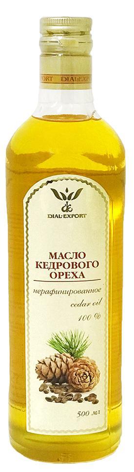 Масло кедрового ореха, 0,5 л, DIAL-EXPORT фото