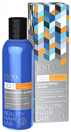 Бальзам «Антистресс для волос», 200 мл, ESTEL BEAUTY HAIR LAB фото