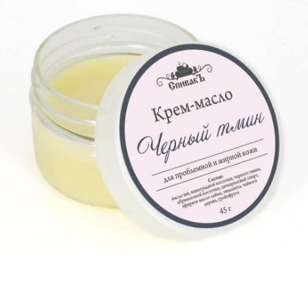 Крем-масло Черный Тмин, СпивакЪ фото