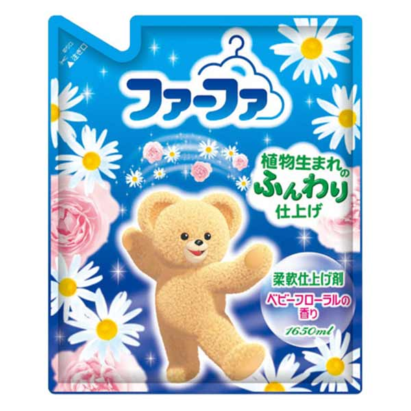 Кондиционер для детского белья «FaFa» с цветочным ароматом, 1650 мл, NISSAN Soap 4902135-325903