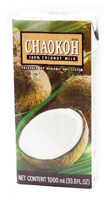 Кокосовое молоко, 1000 мл, CHAOKOH фото