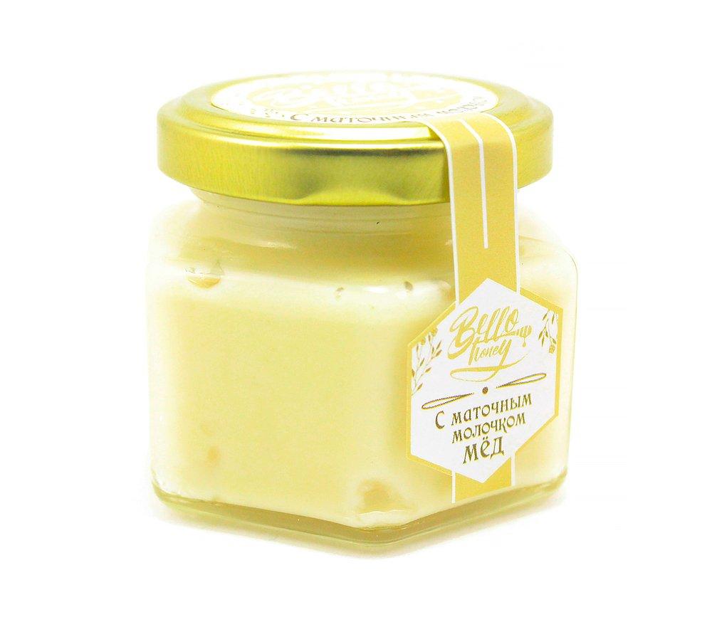 Крем-мёд с маточным молочком, 120 мл, BelloHoney фото