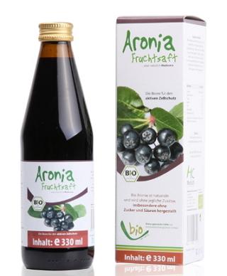 Сок Аронии (Черноплодной рябины), 330 мл, Medicura фото