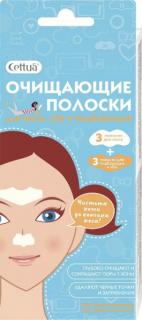 Полоски очищающие для носа, лба и подбородка, 6 шт, CETTUA