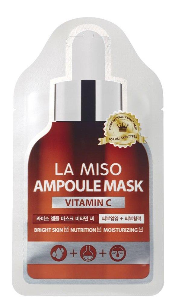 Маска ампульная с витамином С, 25 гр, LA MISO фото