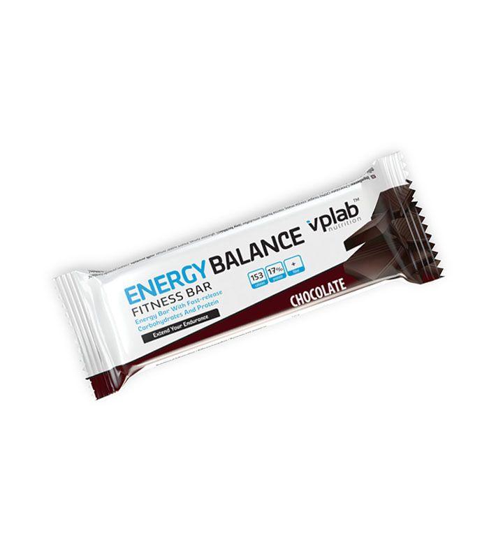 Батончик Energy Balance Fitnes, вкус «Шоколад», 35 гр, VPLab фото