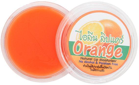 Бальзам увлажняющий для губ «Апельсин», 10 гр, ILENE фото