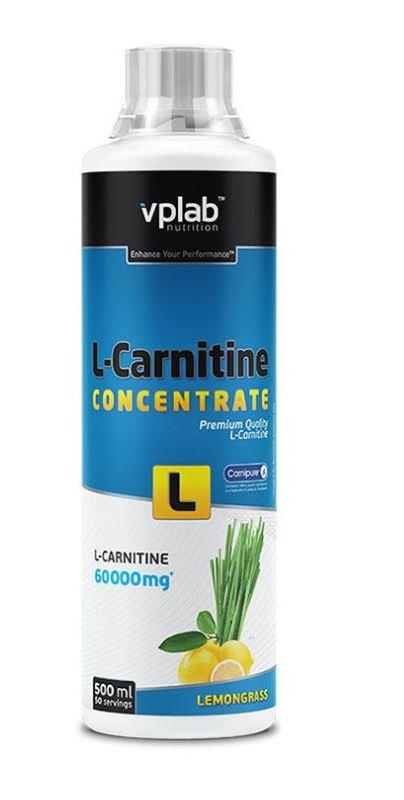 Жидкий концентрат быстродействующего L-карнитина, вкус «Лимонник», 500 мл, VPLab фото