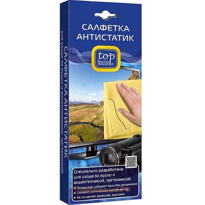 Салфетка «Антистатик», 40 х 40 см, TOP HOUSE фото