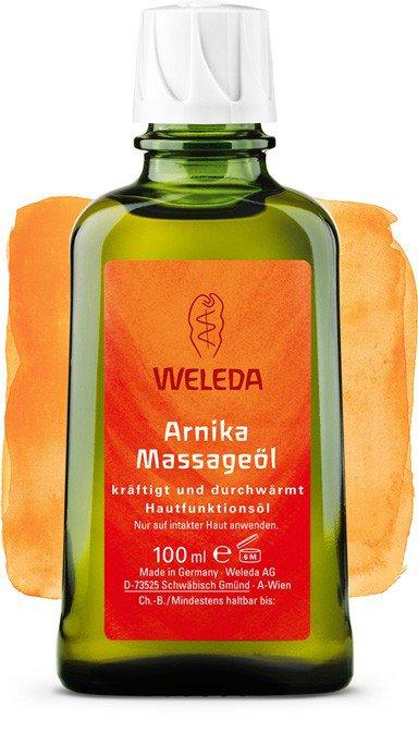 Массажное масло с арникой, 100 мл, Weleda фото