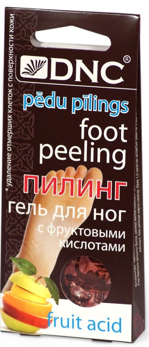 Пилинг-гель для ног с фруктовыми кислотами, 2 саше по 20 мл, DNC