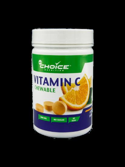Купить со скидкой Витамин C со вкусом апельсина, 60 капсул,  MyChoice Nutrition