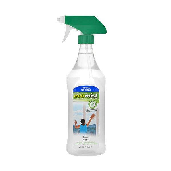Антибактериальное средство для мытья стекол, 825 мл, ECO MIST фото