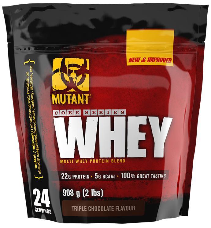 Whey, вкус шоколад, 910 гр, Mutant
