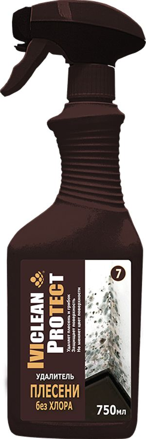 Антибактериальный удалитель плесени без хлора, 0,75л, Ивиклин фото