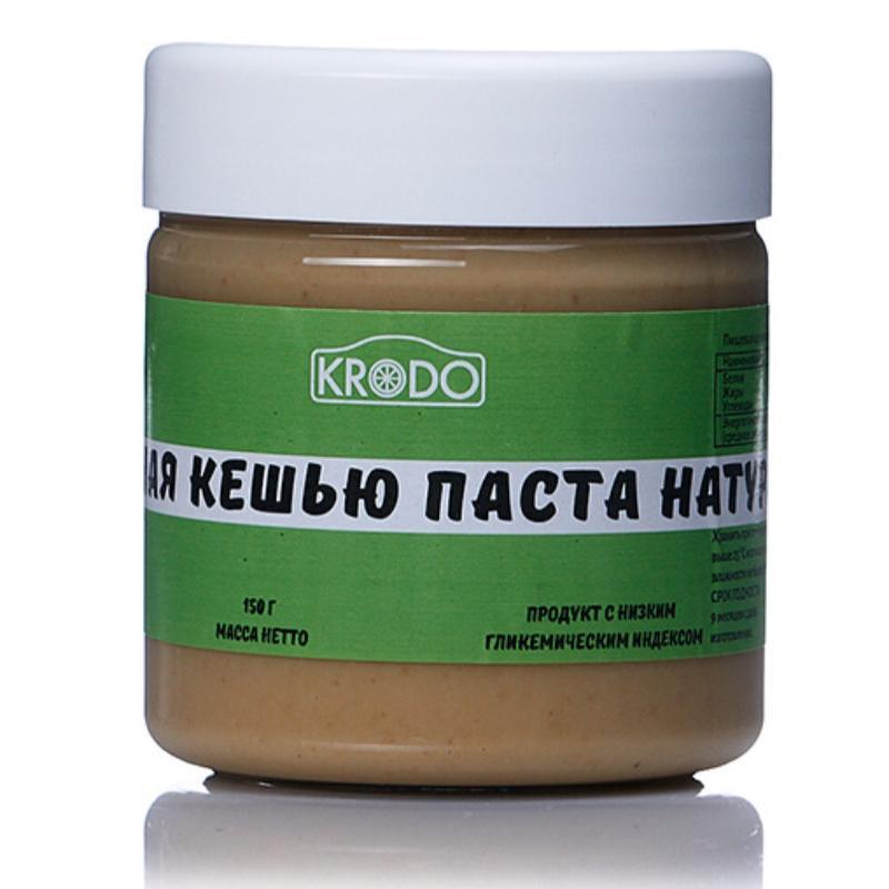 Натуральная кешью паста, 150 гр, KRODO фото