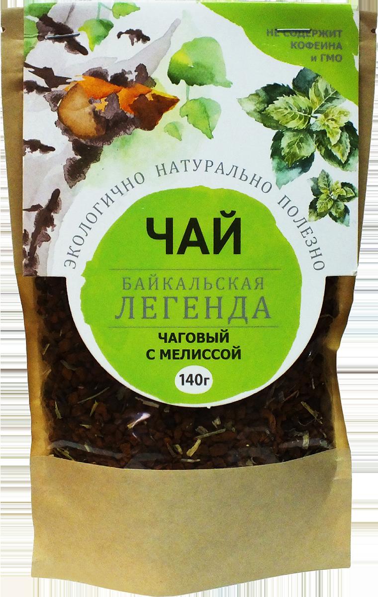Чай Байкальская Легенда чаговый с мелиссой, 140 г, Байкальская Легенда
