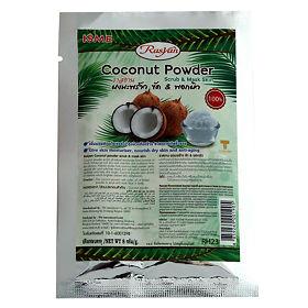 Натуральная увлажняющая скраб-маска в порошке из кокоса для борьбы с возрастными изменениями кожи лица и тела, 20 гр, ISME Rasyan фото