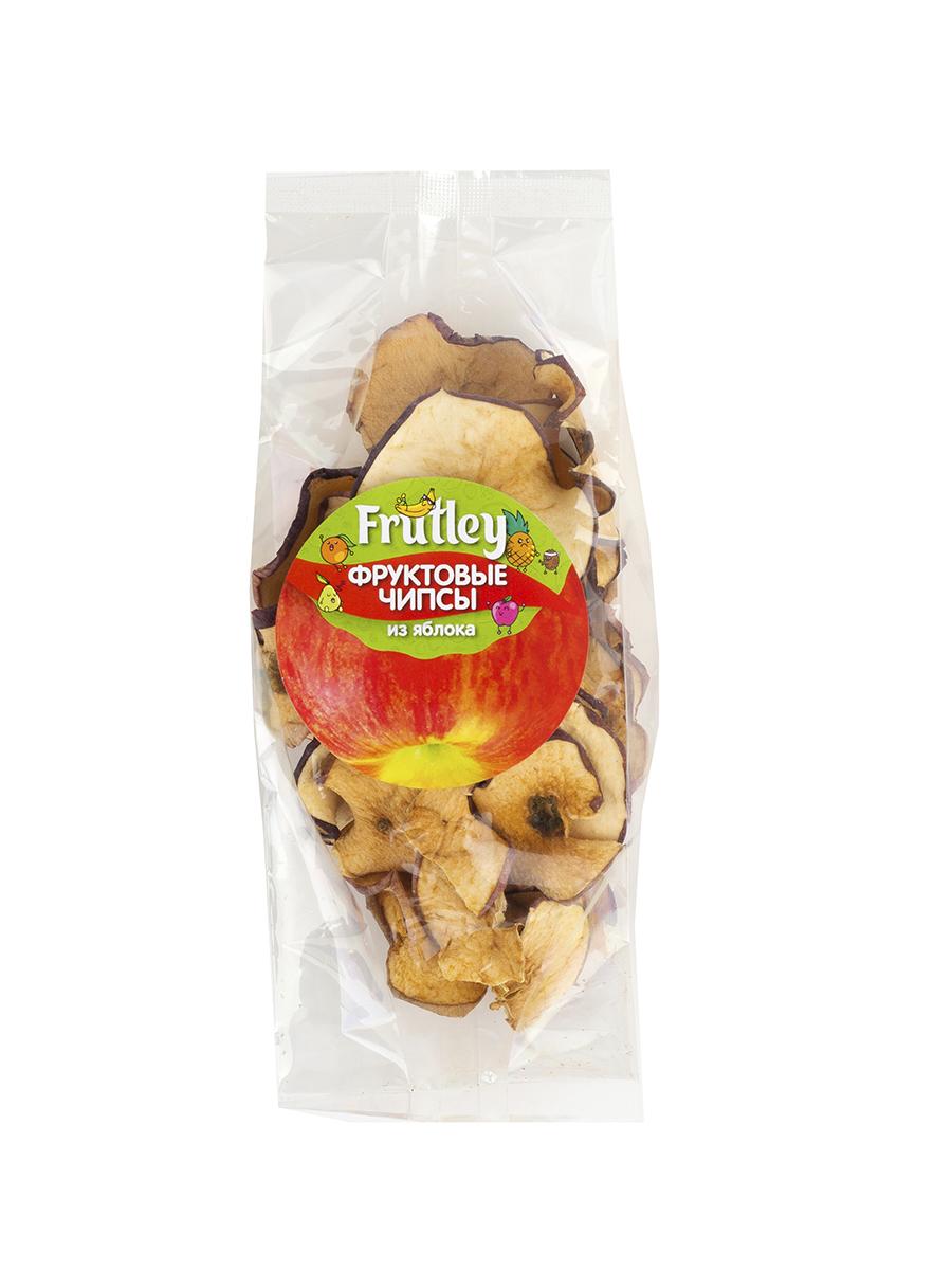 Чипсы - Яблоко, 50 гр, Frutley фото