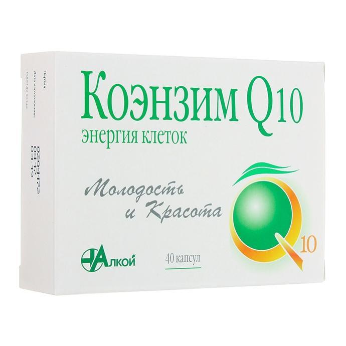 Коэнзим Q10 Энергия клеток, 40 капсул, Алкой
