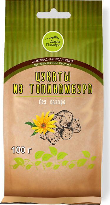 Цукаты из топинамбура натуральные, 100 гр, Дары Памира фото