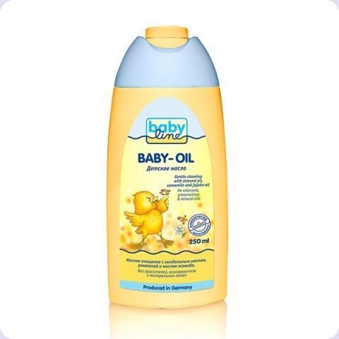 Детское масло, 250 мл, Babyline фото