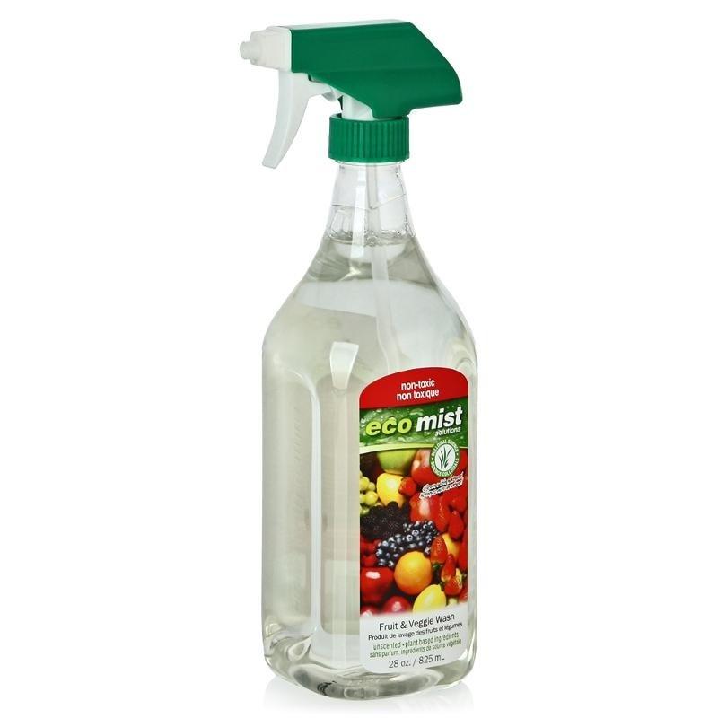 Антибактериальное средство для мытья фруктов и овощей, 825 мл, ECO MIST фото