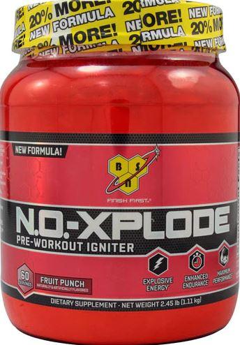 Предтренировочный комплекс NoXplode 3.3, вкус Фруктовый пунш, 1100 гр, BSN фото