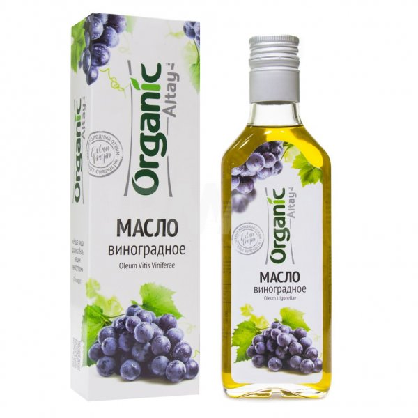 Масло пищевое нерафинированное виноградное, 250 мл, Organic Life фото