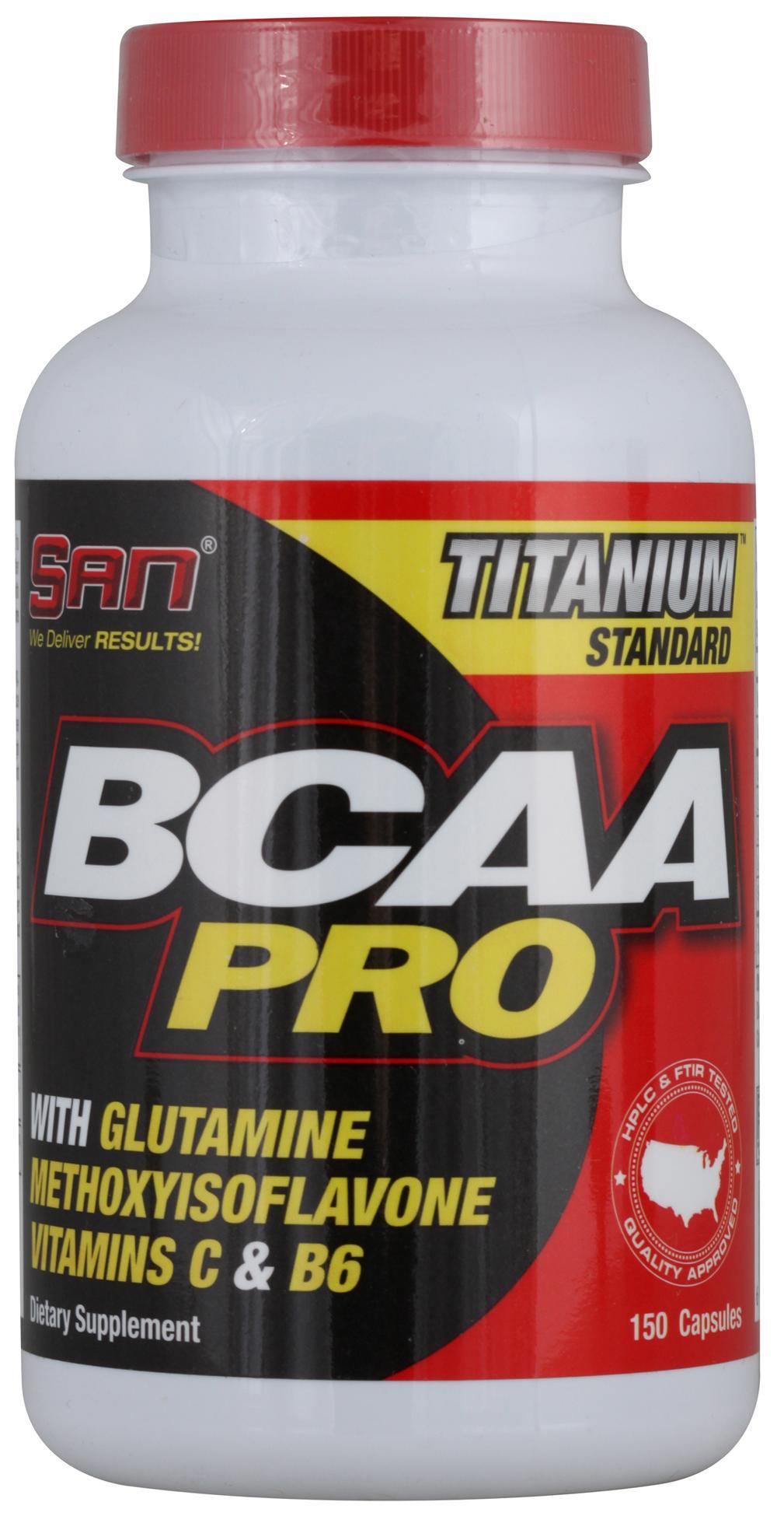 Аминокислоты BCAA Pro, 150 капсул, SAN