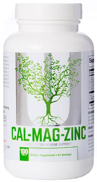 Минеральный комплекс Calcium-Zinc-Magnesium Plus Copper, 100 таблеток, Universal Nutrition фото