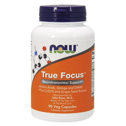 Тру Фокус 965 мг, 90 капсул, NOW фото