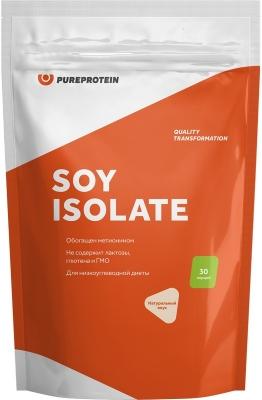 Купить со скидкой Соевый протеин, вкус «Натуральный, 900 гр,  Pure Protein